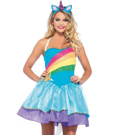 39478f63bd83 Billigt Enhjørning kostume til sidste skoledag fra Wonderland kostumer