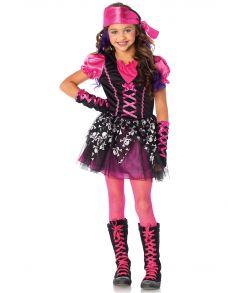 Billigt Pirat kostume til piger fra Wonderland kostumer.