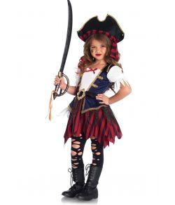 Pirat kostume til piger fra Leg Avenue.