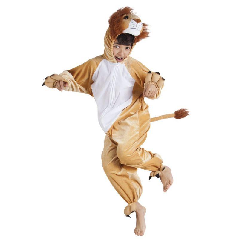 fastelavn løve kostume
