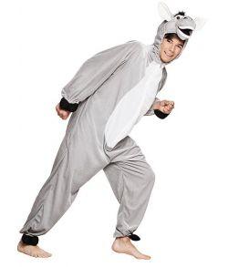 Billigt æsel kostume til fastelavn.
