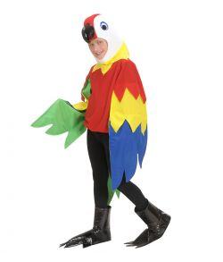 Papegøje kostume til børn.