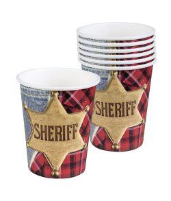 Sheriff kopper til Cowboyfesten