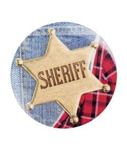 Sheriff Bagde 4 stk
