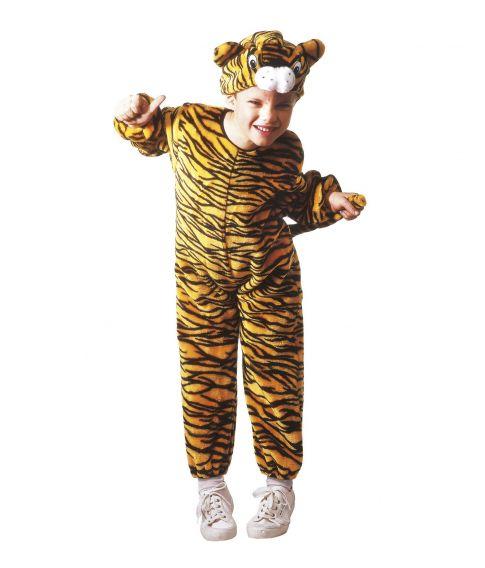 Billigt tiger kostume til små børn.