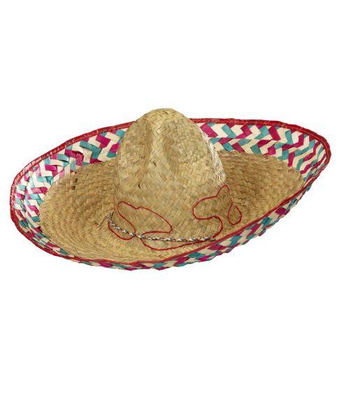 Billig sombrero til mexicaner udklædningen.