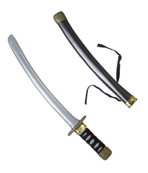 Ninjakniv i plastik til ninja udklædningen