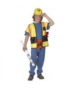 Entreprenør kostume til fastelavn.