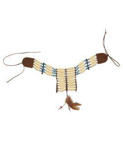Indianer halssmykke til kostume.