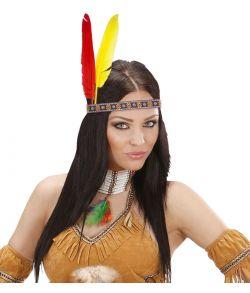 Indianer pandebånd til kostume.