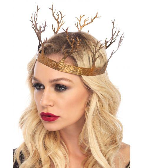 Metal krone i guld til f.eks. Game of Thrones udklædningen