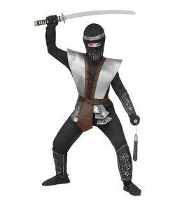 Flot Ninja kostume til drenge til fastelavn.
