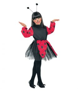 Mariehøne kostume til piger.