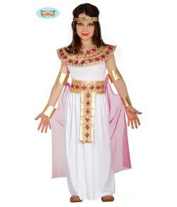 Billigt Egyptisk pige kostume til fastelavn.