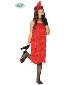 Billigt Charleston kostume til piger til fastelavn.
