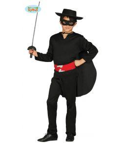 Billigt Zorro kostume til drenge til fastelavn.