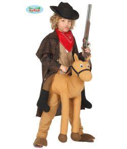 Piggy Back hest kostume til børn.