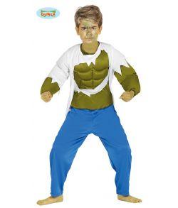 Billigt Hulk kostume til drenge.