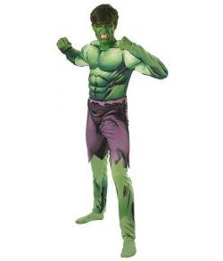 Billigt Hulk Avengers kostume til voksne.
