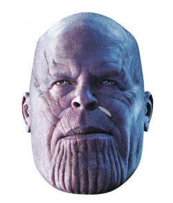 Thanos papmaske med elastik til voksne.