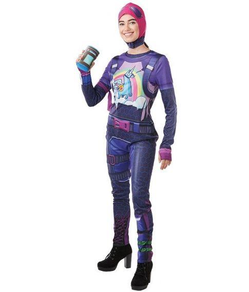 Fortnite Brite Bomber kostume til voksne.