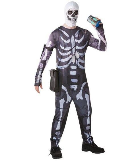 Fortnite Skull Trooper kostume til voksne.