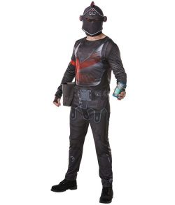 Fortnite Black Knight kostume til teens og voksne.