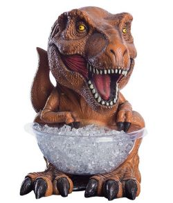 Jurassic World T-Rex figur med slikskål holder.
