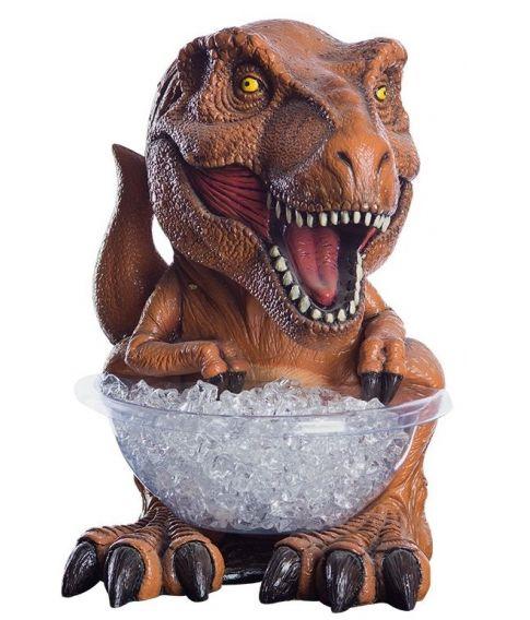 Jurassic World T-Rex figur med slikskål holder.