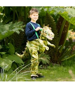 Dinosaur Piggy Back til børn.