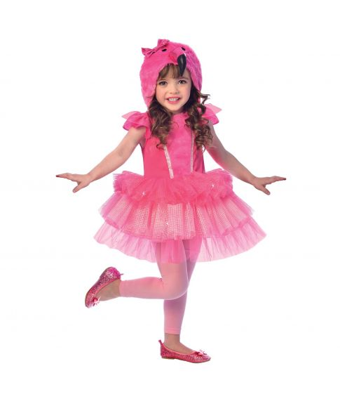 Flamingo kostume til piger.