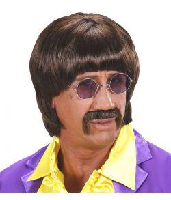 Paryk til 60er Beatles udklædning.