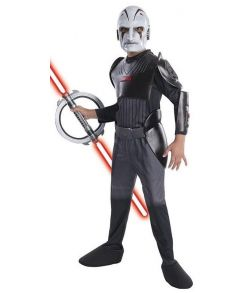 Star Wars Rebels Inquisitor kostume til drenge.