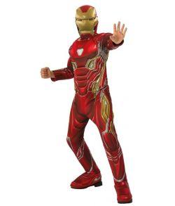 Iron Man Infinity War kostume til drenge.