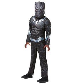 Black Panther Avengers Assemble kostume til drenge.