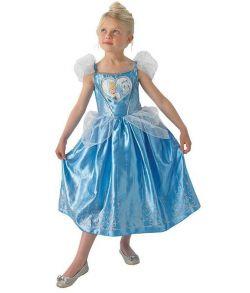 Askepot kostume til piger til fastelavn.
