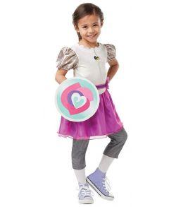 Ridder Nella kostume kostume til piger.