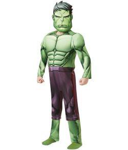 Hulk Avengers Assemble kostume til drenge.