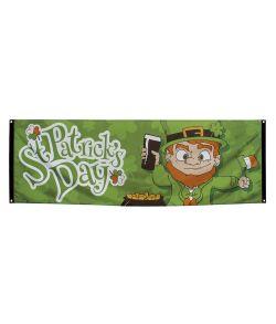 Sankt Patricks polyester banner til Sankt Patricks dag.