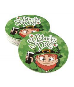 Ølbrikker i pap til Sankt Patricks dag