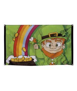 Sankt Patricks dag flag i polyester.