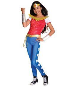 Wonder Woman kostume til piger til fastelavn.