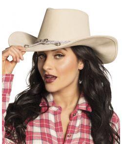 Flot hvid cowboy hat