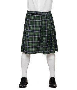 Grøn skotskternet kilt til skotte udklædningen.