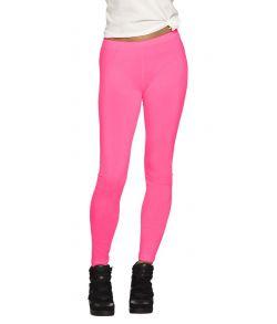 Neon Pink leggings til 80er udklædningen.