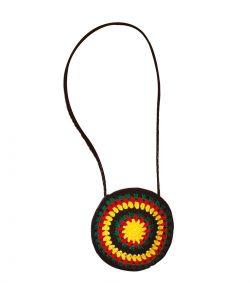 Rastafari taske til kostume.