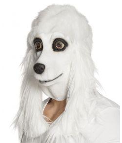Puddelhund maske med pels