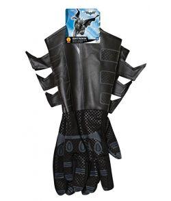 Batman handsker i læder-look til voksne.