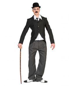 Charlie Chaplin kostume til voksne.