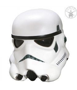 Star Wars Stormtrooper helmaske i et stykke til voksne.